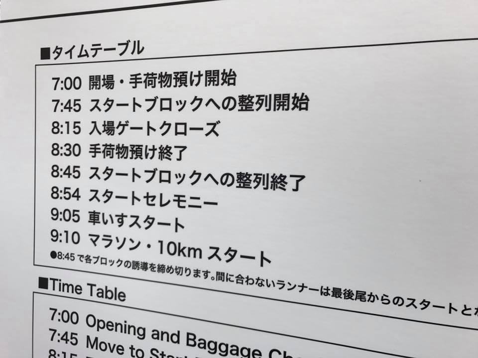 東京マラソン2017当日の様子2