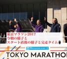 東京マラソン2017当日の様子