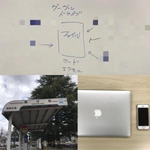 福島市でICT導入ミーティング(グーグルドライブなど) ITとICTとIoTの違い